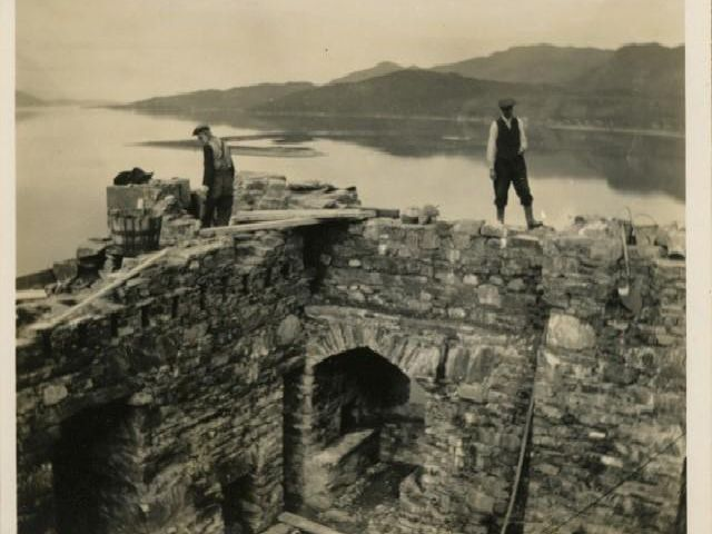 The rebuilding of Eilean Donan Castle took 20 long years.