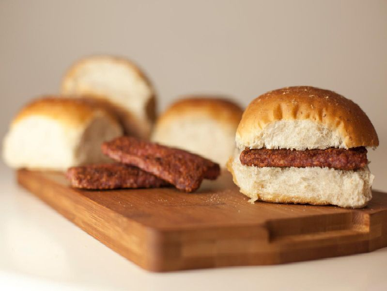 What do you put on your roll and sausage?