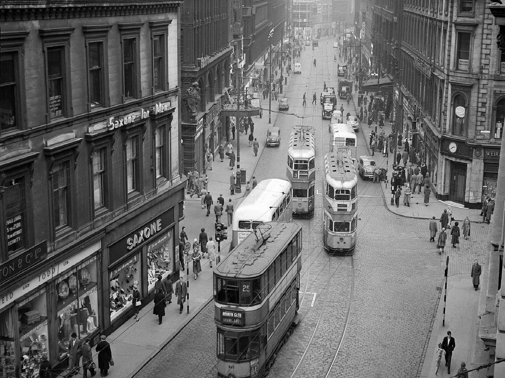 The Glasgow trams were the last network of its kind in the country.