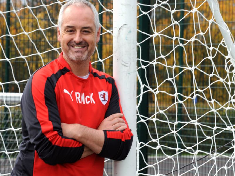 Ray McKinnon has managed both Falkirk and Raith Rovers
