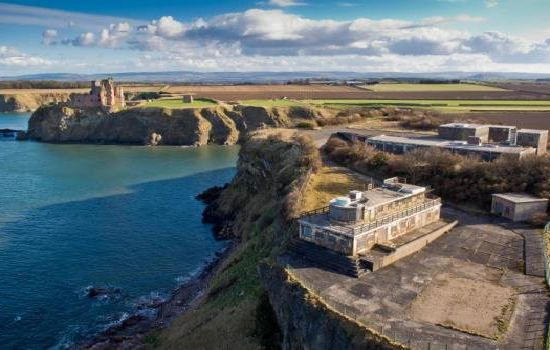Price of WWII fortress with clifftop views slashed - to £2.5m