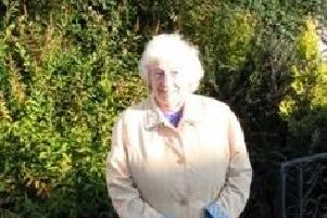 Annie Temple was found by officers in the village of Kinglassie, Fife, on October 25. Pic: Police Scotland