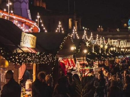Edinburgh's Christmas Market is the #2 most Instagrammed in the UK