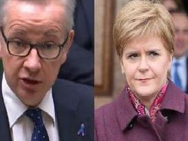 "Mr Gove said such a vote would be a ""waste of time"" and a ""distraction"", insisting the SNP should instead be focusing on dealing with problems in Scotland's hospitals and improving the education system."