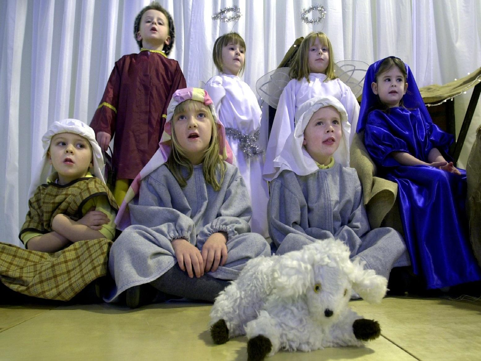 Do you remember doing a nativity play in school?