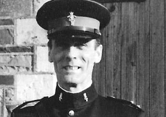 John Paton enjoyed a 30-year career in the army, retiring in 1975 with the rank of major