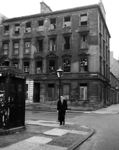 Nicholson Street and Apsley Place in November, 1962