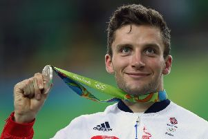 Callum Skinner won gold and silver at the Rio 2016 Olympic Games. Picture   Bryn 150a65a09