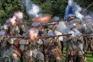 The UK's oldest re-enactment society, The Sealed Knot, will bring to life the history of Scotland's involvement in the Civil Wars at Thirlestane Castle on June 24-25.