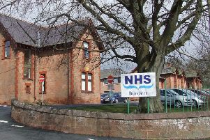 Staff absences at NHS Borders above average