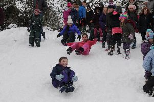 Local decision to close school due to snow