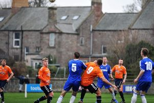 The point has been coming, said manager Tom Blaikie after his side's draw with Coldstream. (Pic: Tweedmouth Rangers)