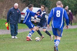 Jed Legion edged out Highfields (Pic: Bill McBurnie)