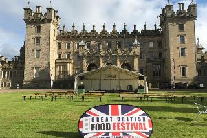 Once again Floors Castle, Kelso will be hosting The Great British Food Festival on September 14-15.'The festival combines the nation's love of great food and drink with some of the country's most treasured locations, providing a unique opportunity to explore new flavours and beautiful venues, all at the same time!