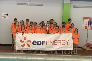 Eyemouth and District's swimmers
