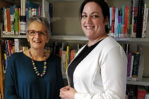 Better palliative care...has been a boon for Janice Logan, PATCH course facilitator (left) with course participant senior charge nurse, Andrea Johnston.