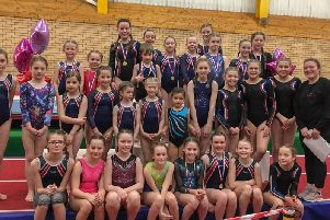 DC Gymnastics' biggest ever squad