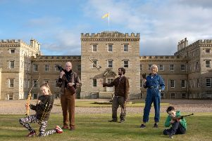 The Earl of Haddington is 'throwing' a new event at Mellerstain House & Gardens near Kelso in the Scottish Borders.  The Earl, who has previously competed in axe throwing competitions and regularly practices with his own set of Tomahawks, is inviting families to come to a new series of Wild Weekend events at Mellerstain this spring and summer.