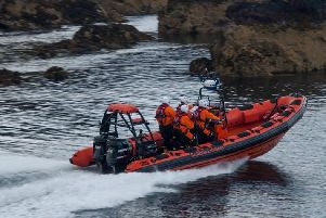 St Abbs independent lifeboat.