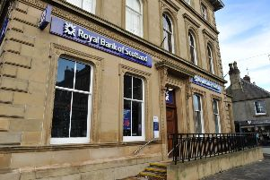 The Royal Bank of Scotland in Duns  closed in 2018