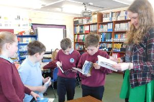 Ayton Primary School Graphic Novel Visit