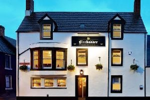 The leasehold of the Blackadder Bar & Restaurant, at Greenlaw is being offered by property adviser's Christie & Co.