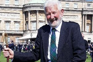 Joe Burn from Crumstane Farm, Duns has been awarded a lifetime achievement award from the Rare Breeds Survival Trust.