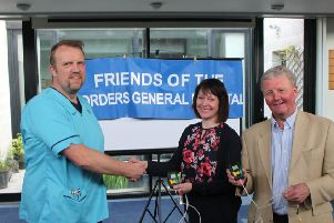 Hospital benefits from Friends of BGH donation