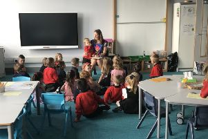 Praise for staff at Duns Primary School and Nursery