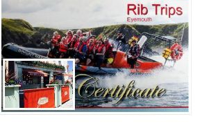 Giacopazzi's and Eyemouth Rib Trips support the Fishermen's Mission first online a uction
