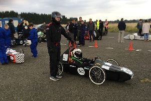 Greenpower pupils 'stem' the competition