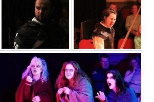 Duns Volunteer Hall played host to a 'bloody, bold and resolute' Macbeth
