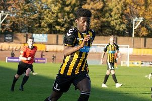 Joao Balde was on the scoresheet for Berwick