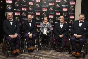 Scottish Sports Awards 2019 Disability Sport winners - the Scottish Wheelchair Curling Team, containing players from Berwickshire.