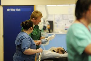 Physical and verbal assaults on NHS Borders staff increases