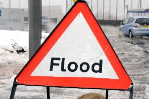 A flood warning has been issued along the River Tweed.