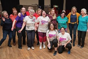 Duns Dancethon raises more than £8k for Pancreatic Action UK