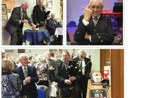 Coldstream Burns Club raises a toast to Rabbie Burns