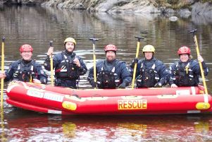 Funding boost of more than £3k for Borders Water Rescue Team