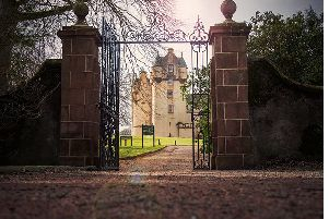 Rachel captures the beauty of Fyvie Castle in her photograph for her final year project.