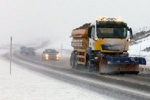 Drifting snow is continuing to cause problems for drivers