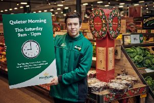 Morrisons to make stores quieter on 'Super Saturday'
