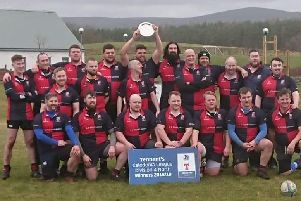 Peterhead Rugby Club lift Tennents Caledonia 4league title