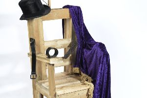 The exhibition will feature a replica electric chair as used by notorious Aberdeenshire Magician Walford Bodie