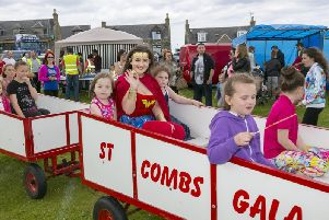 Theres sure to be plenty to entertain all the family at this years St. Combs Gala.