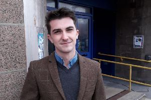 Paul Robertson says the cinema project can help make the town centre a vibrant place once again