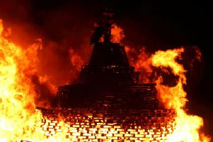 Hundreds of folk are expected to head to Gadle Braes for this year's bonfire fun.