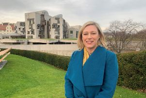 Gillian Martin raised the plight of estrangement in the Scottish Parliament chamber