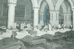 Mount Stuart was used as a military hospital during the First World War.