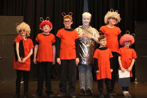 Children from Achievement Bute's Dramabox club put on a 'Play in a Day' on Friday, April 8.
